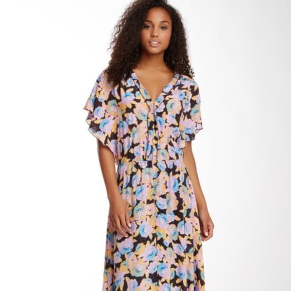a5ac07bbbba63 Ella Moss Dresses & Skirts - NWOT Ella Moss Floral Silk Maxi Dress Small